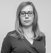 Porträtt på Sarah Larsson